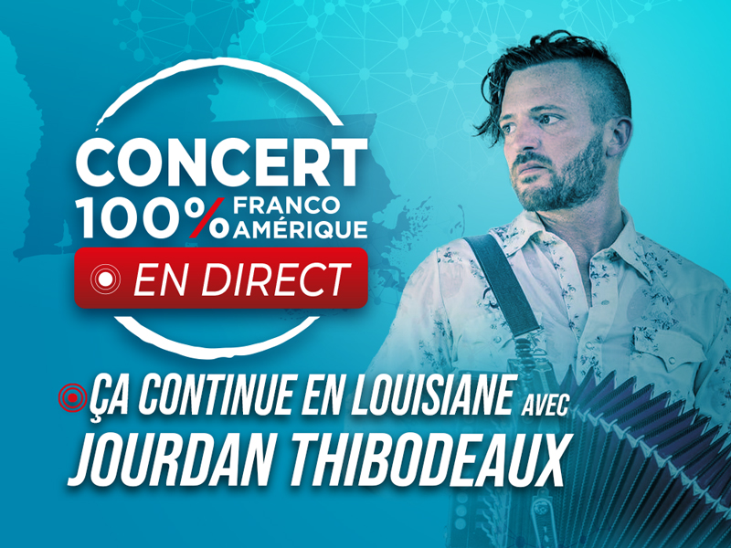 Concert en direct Jourdan Thibodeaux